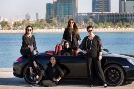 """بالصور.. سعوديات يشاركن في """"فورمولا البحرين"""" لأول مرة"""