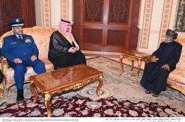 بالصور والفيديو: جلالة السلطان يستقبل الأمير خالد بن سلمان نائب وزير الدفاع السعودي