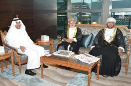 رئيس البرلمان العربي يختتم زيارته للسلطنة