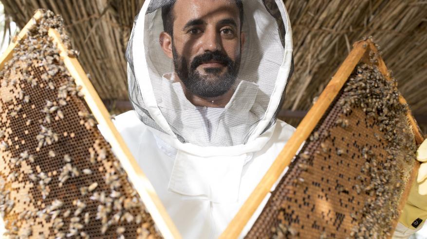 24 شركة عمانية في أكبر أجنحة معرض سوق العسل بقطر