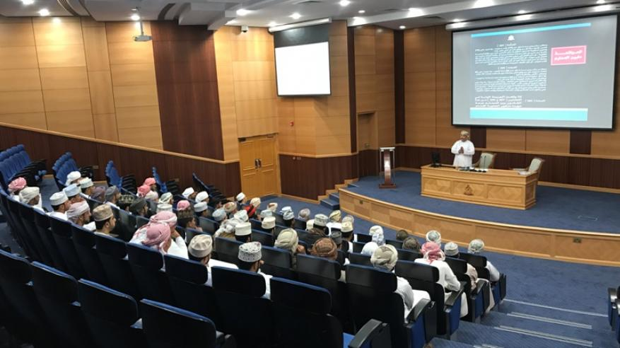 شرطة مسندم تنظم محاضرة قانونية