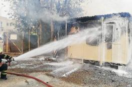 """""""الدفاع المدني"""" تسيطر على حريق في سكن عمال ببوشر"""