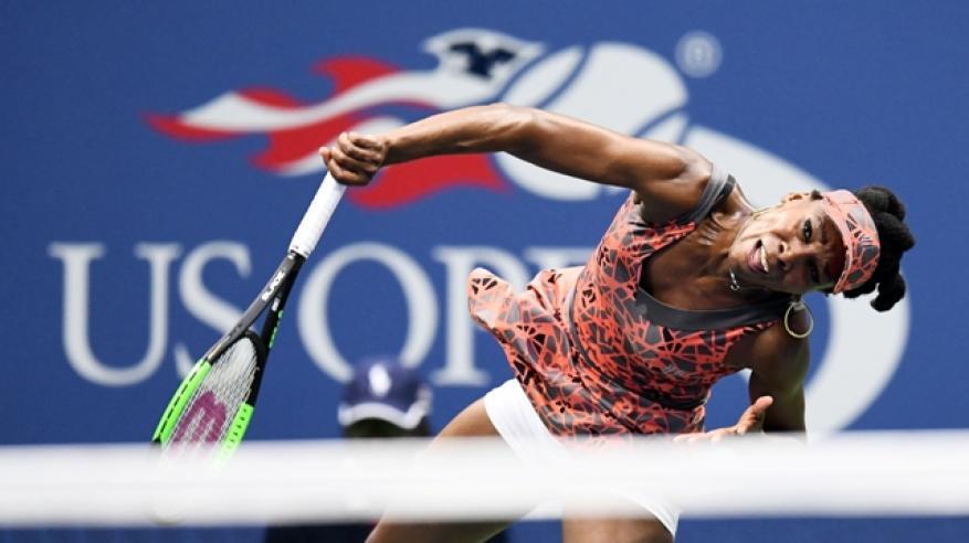 وليامز تقود الحملة الأمريكية في بطولة أمريكا المفتوحة