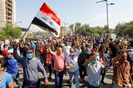 الاحتجاجات العراقية تغلق الطرق المؤدية إلى حقل نفطي