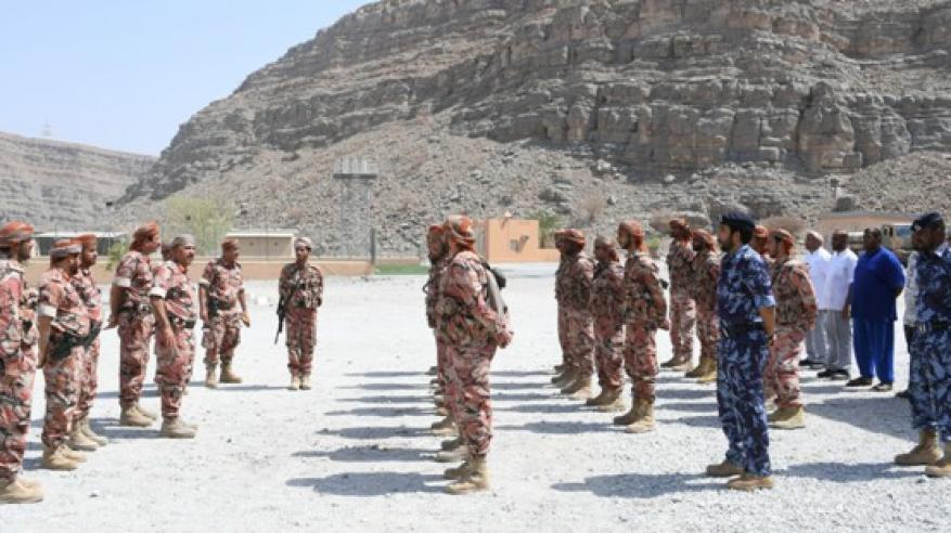 زيارات عسكرية لمسندم (2)