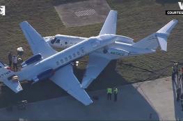 بالفيديو.. لحظة اصطدام طائرتين بأمريكا