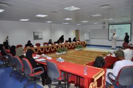 افتتاح الأسبوع الثاني لبرنامج تنمية التفكير الإبداعي بجامعة السلطان قابوس