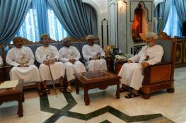 """البوسعيدي يلتقي بعض أعضاء """"الشورى"""" ممثلي ولايات ظفار"""
