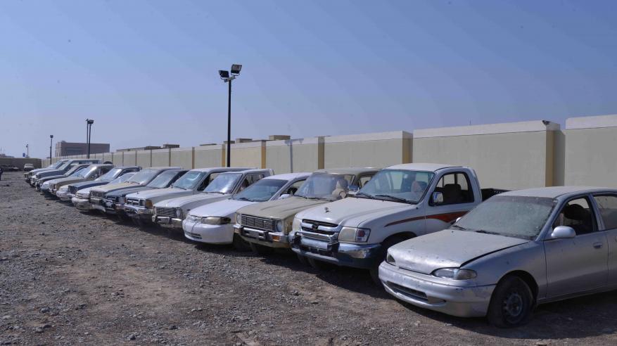 شرطة الداخلية تضبط 19 مركبة مخالفة