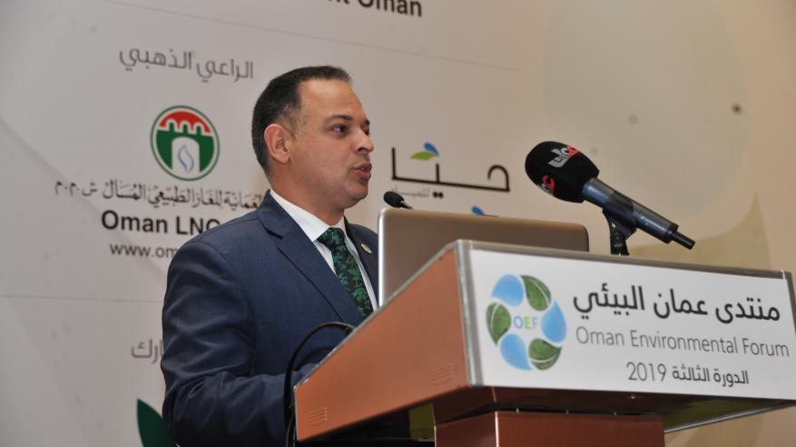 توصيات رئيس المجلس العالمي للاقتصاد الأخضر في منتدى عمان البيئي
