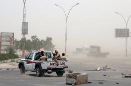 """الحوثيون يستهدفون حقلا نفطيا سعوديا.. و""""التحالف"""" يغطي عدن بالقنابل الضوئية"""