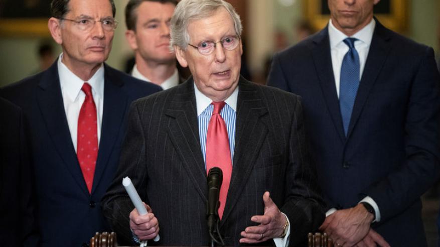 الشيوخ الأمريكي يقر مشروع قانون مؤيد لإسرائيل ويوبخ ترامب