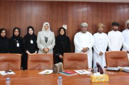 """وزيرة التعليم العالي تناقش أبرز مشاريع وخطط """"تطبيقية صلالة"""" وجامعة ظفار"""