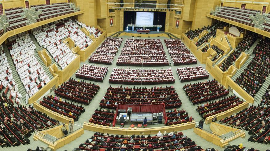 جامعة السلطان قابوس تستقبل الدفعة 31 من طلابها الجدد .. وأسبوع تعريفي بمختلف جوانب الحياة الأكاديمية