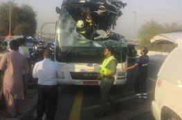 """الإمارات تحاكم سائق حافلة """"مواصلات"""".. وتطالبه بـ3 ملايين درهم"""