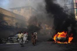 مقتل 16 في انفجار قنبلة بباكستان