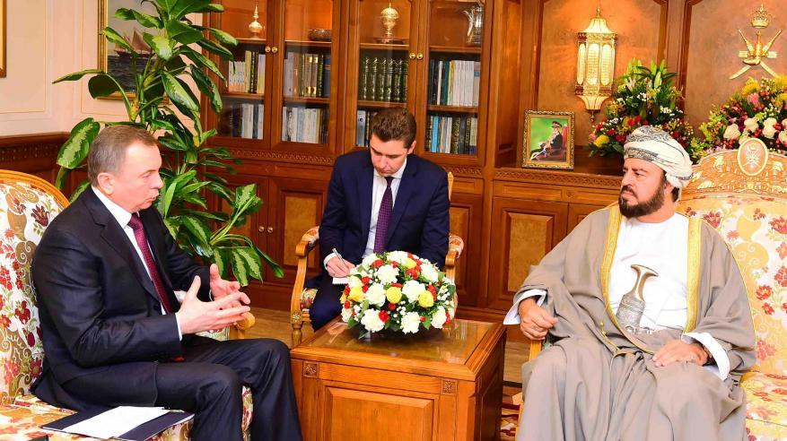 جلالة السلطان يتلقى رسالة خطية من رئيس بيلاروس حول التعاون الثنائي القائم