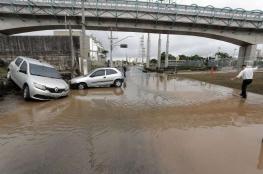 بالفيديو.. فيضانات مرعبة تجتاح البرازيل