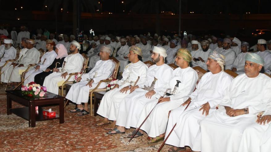 راعي الحفل وجانب من الحضور