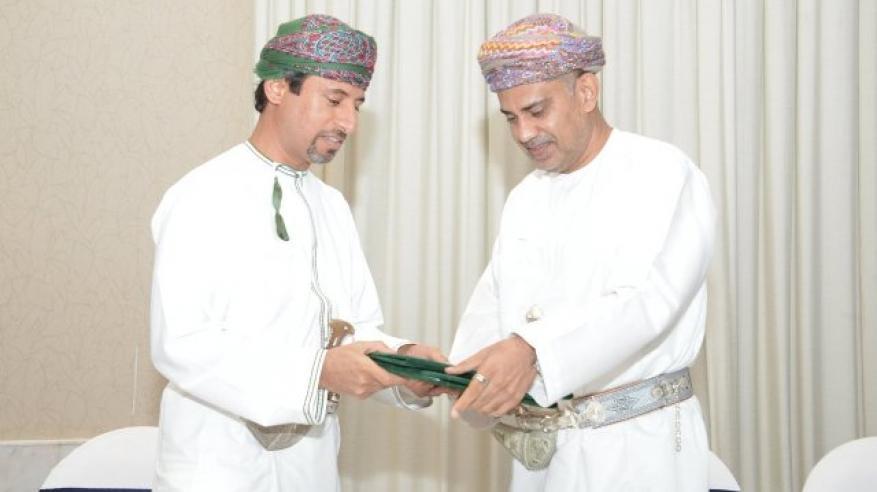 التوقيع مع وزارة النفط والغاز