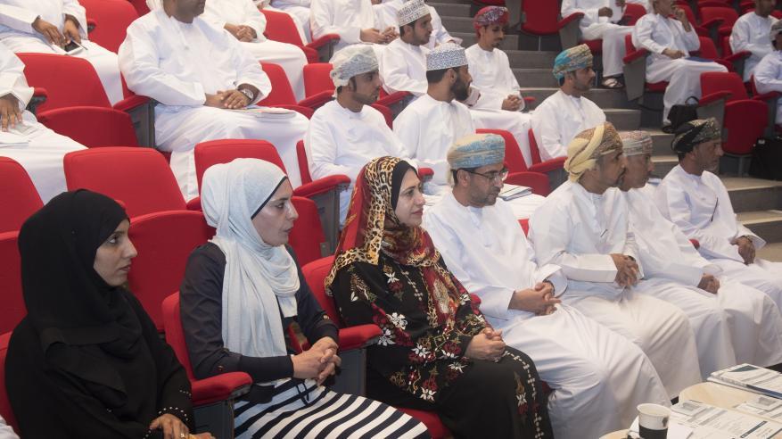 يوم تعريفي لطلبة الدراسات العليا الجدد في جامعة السلطان قابوس