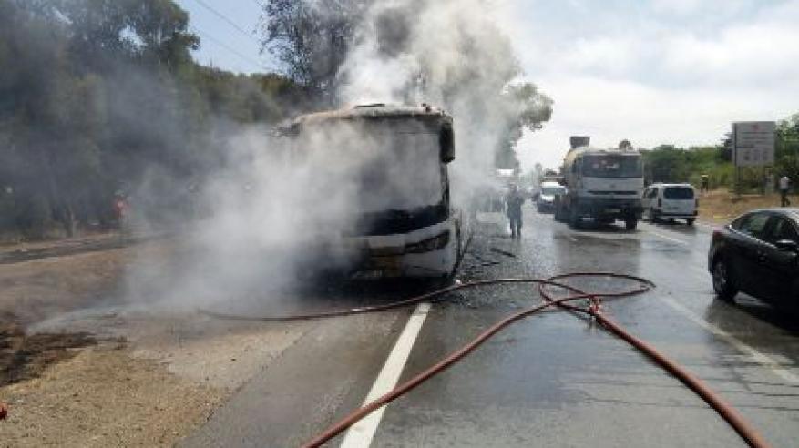 مقتل 52 من أوزبكستان في حريق بحافلة في قازاخستان