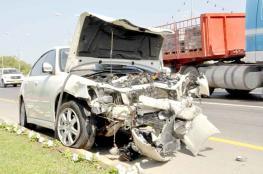 40.4% انخفاضا في عدد حوادث الطرق بنهاية يوليو.. ومسقط في المقدمة