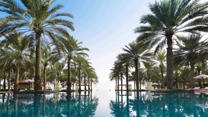 Al Bustan Palace- Infinity Pool
