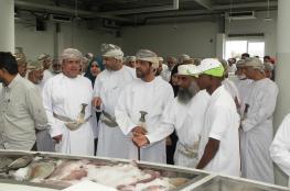 افتتاح سوق الأسماك بعبري