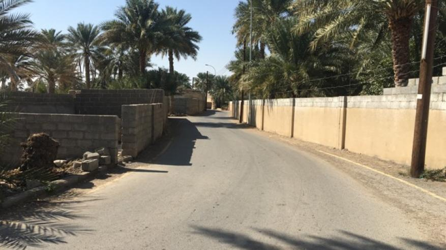 """الحياة تعود من جديد إلى بساتين """"العراقي"""" بعبري بعد صيانة الأفلاج"""