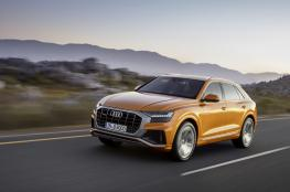 """""""Audi Q8"""".. تجمع بين أناقة """"الكوبيه"""" وعملية السيارات الرياضية"""