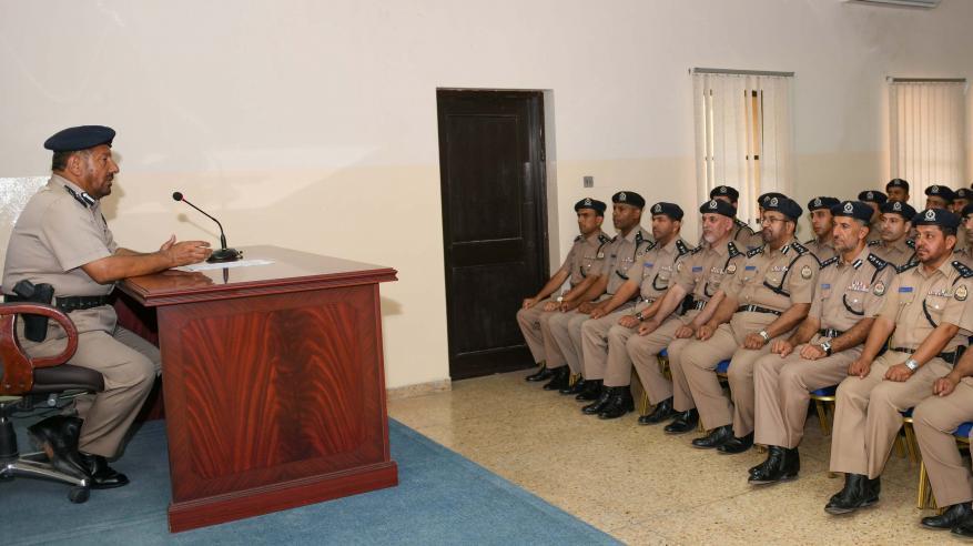 افتتاح دورة المهارات العملياتية والإدارية لضباط الشرطة