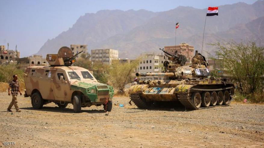 تقدم للقوات اليمنية في محور باب المندب