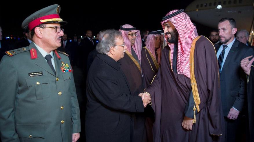 محمد بن سلمان يصل واشنطن في زيارة رسمية