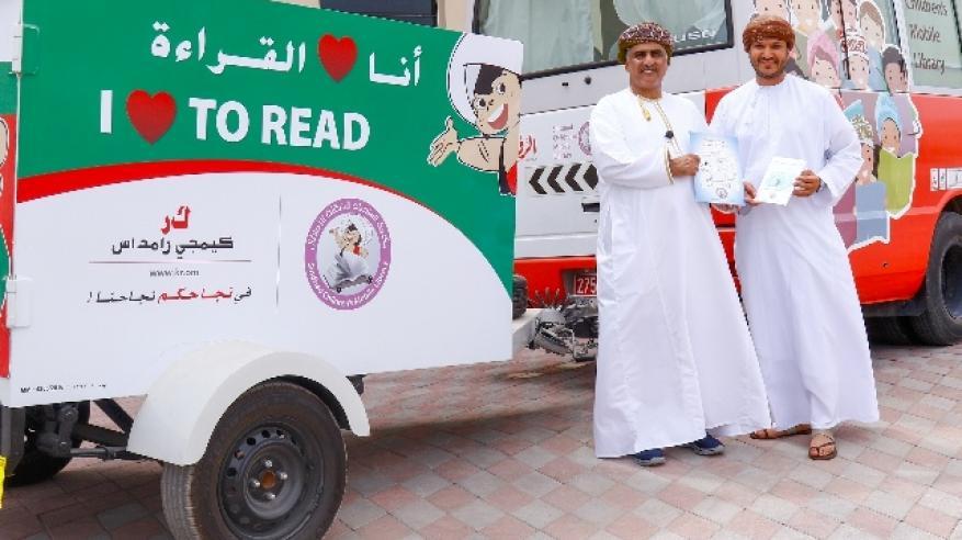 """""""كيمجي رامداس"""" تقدم مقطورة ثانية لمكتبة السندباد المتنقلة للأطفال ضمن خطط دعم وتنمية المجتمع"""