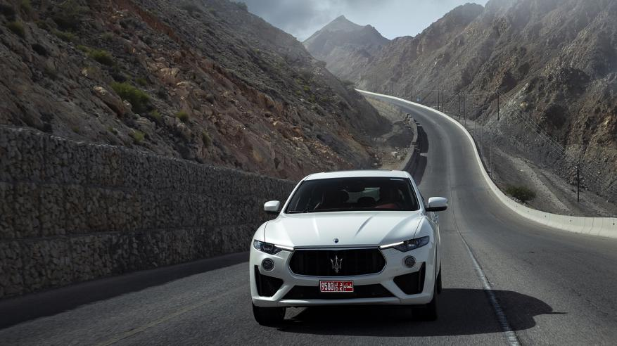 Another image from the Omani premiere of Levante V8