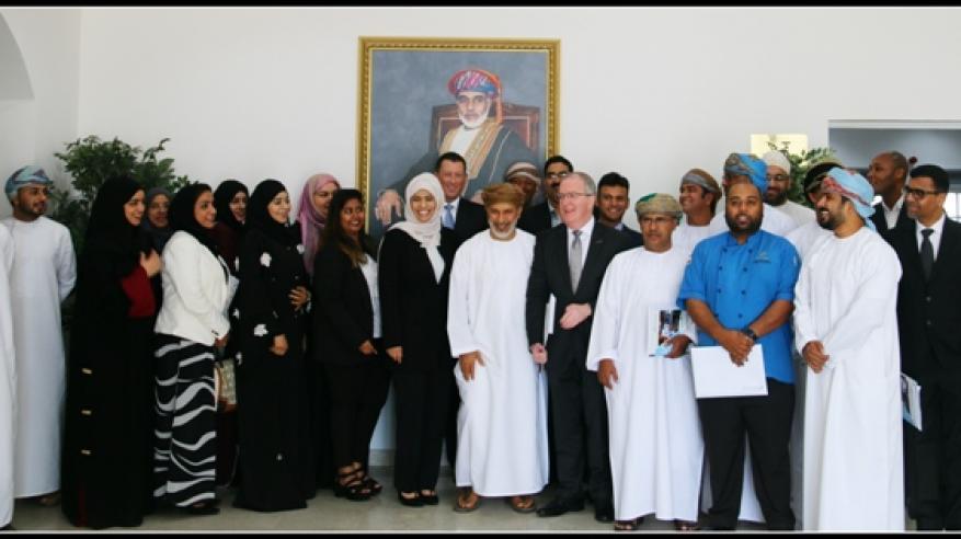 """""""عمان للسياحة"""" توقع مذكرة تفاهم وشراكة مع 15 مؤسسة سياحية رائدة في السلطنة"""