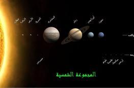 حركة القمر والكواكب السيارة خلال شهر سبتمبر