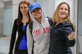 الفتاة السعودية الهاربة من أسرتها تصل إلى كندا