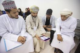"""300 مشارك في احتفال""""رؤية الشباب"""" بكلية مسقط"""