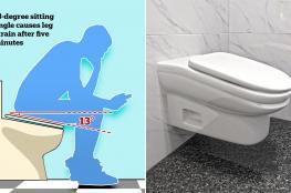 مرحاض جديد لا يهدر وقت العمل!