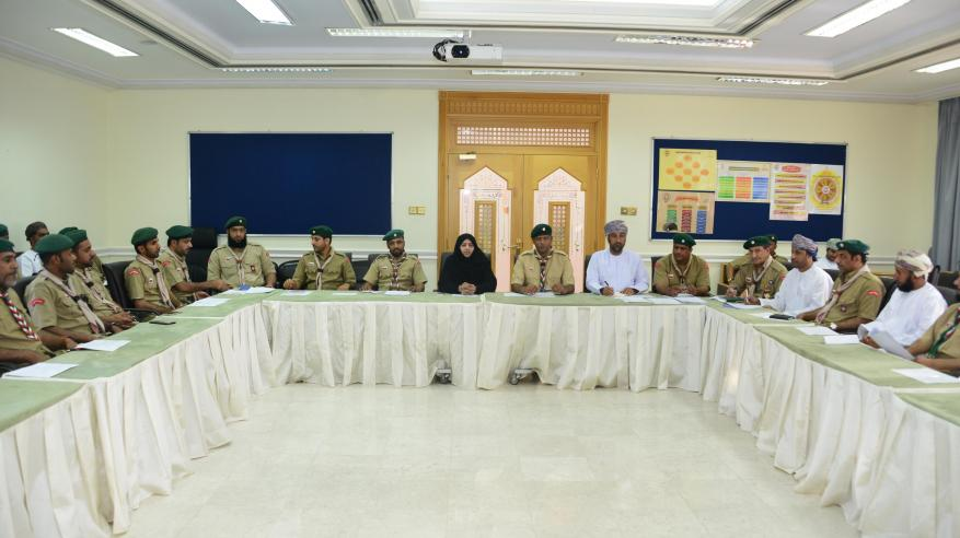 مديرية الكشافة والمرشدات تناقش استعداداتها لتنظيم المخيم الشتوي