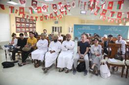 محاضرة تاريخية بكلية السُّلطان قابوس لتعليم اللغة العربية للناطقين بغيرها