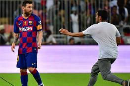"""بالفيديو.. موقف """"مزعج"""" لميسي مع مشجع سعودي"""
