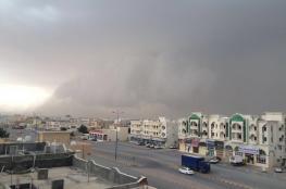"""""""الأرصاد"""": تكاثف السحب على بعض المناطق وتوقعات بهطول أمطار متفرقة"""