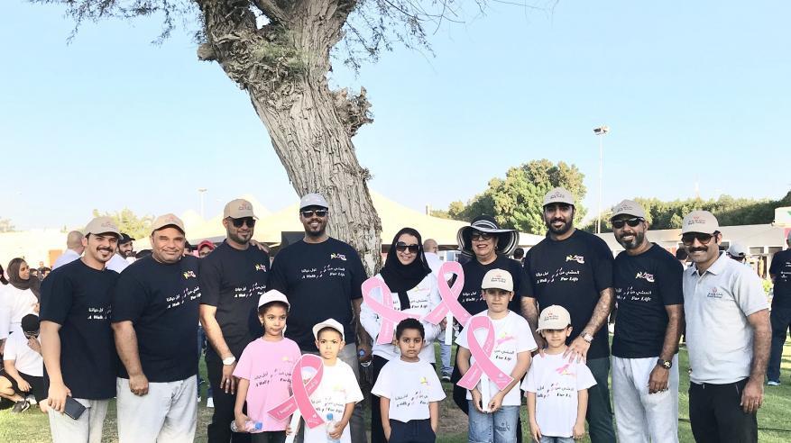 بنك صحار يشارك في المسيرة السنوية للتوعية بالسرطان