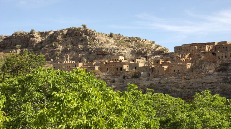 Jebel Akhdar Wadi bani Habib 754B