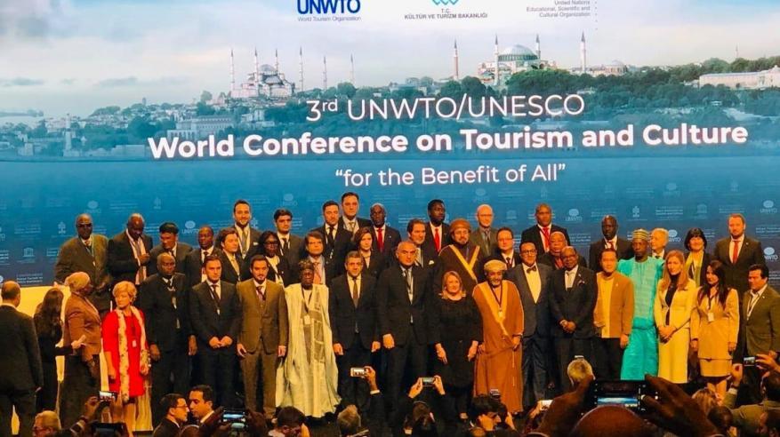 السلطنة تشارك في المؤتمر العالمي الثالث حول السياحة والثقافة بتركيا