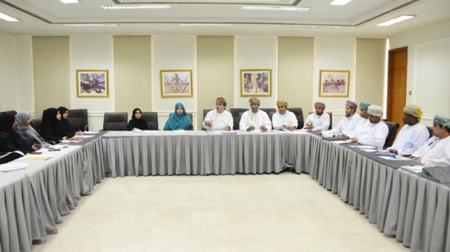 أجتماع المدير العام برؤساء اقسام الشكافة والمرشدات بالمحافظات