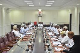 اجتماع المجلس البلدي بمحافظة جنوب الشرقية